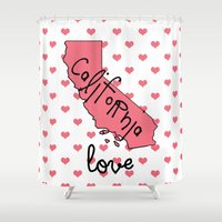 tupac Shower Curtains featuring California love by courtneeeee