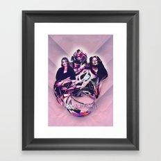 ZAHA HADID: DESIGN HEROES Framed Art Print