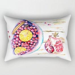 Wine&Cinnamone Rectangular Pillow