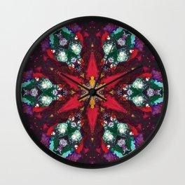 Gilded Serpent Wall Clock