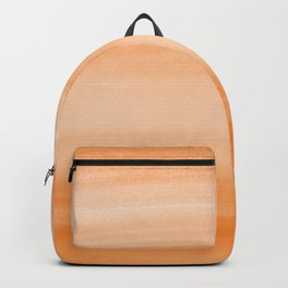 Touching Orange Watercolor Abstract #2 #painting #decor #art #society6 Backpack