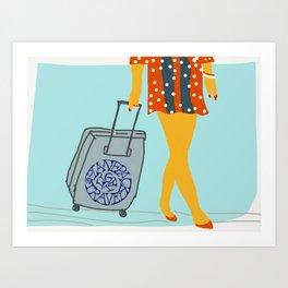 Carry on Art Print