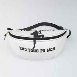 I Fought Tong Po Fanny Pack