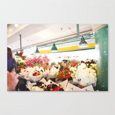 Pike's Place Market Canvas Print