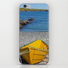 yellow dory iPhone Skin
