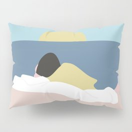 Feelings into sunset Pillow Sham