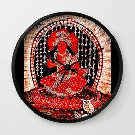 Hindu Lakshmi 1 Wall Clock
