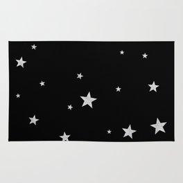 Silver Stars Rug