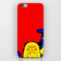 hell iPhone & iPod Skins featuring Hell by Alec Goss