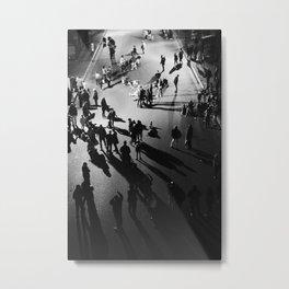 Crowded Metal Print