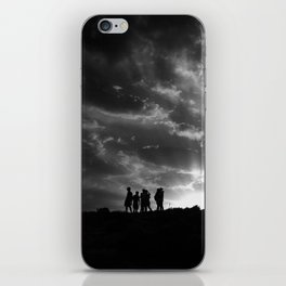 today or maybe tomorrow iPhone Skin