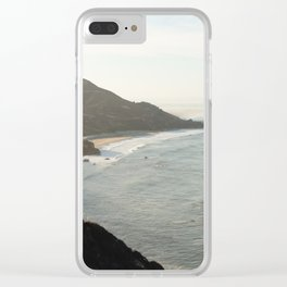 Sunrise over Big Sur Clear iPhone Case