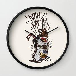 Food Rage-Drink Wall Clock
