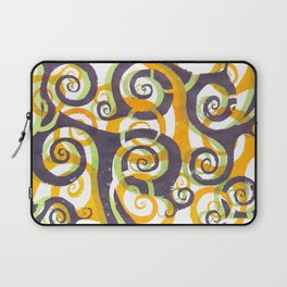 Swirls on Swirls Laptop Sleeve