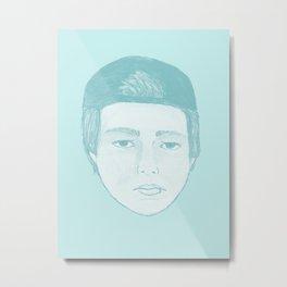 Blue Luke Metal Print