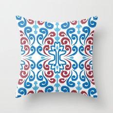 Chinoiserie Damask Throw Pillow
