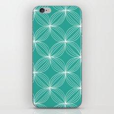 Star Pods - Aqua iPhone & iPod Skin
