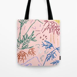 Fuji Botanical Tote Bag