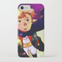 the little prince iPhone & iPod Cases featuring Little Prince by Mei Linwau