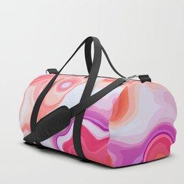Vintage Colors Liquid Agate Gem Duffle Bag