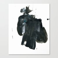 the fault Canvas Prints featuring Fault by Forms&Shapes
