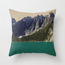 Strathcona Provincial Park Throw Pillow