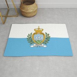 San Marino Flag Rug