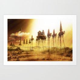 -Caravan Dali- Art Print