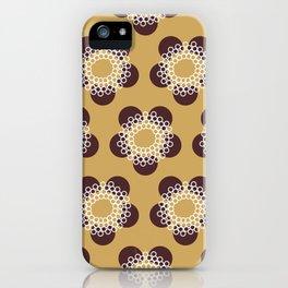 Flower Power surface pattern iPhone Case
