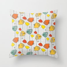 Atomic Revival Throw Pillow