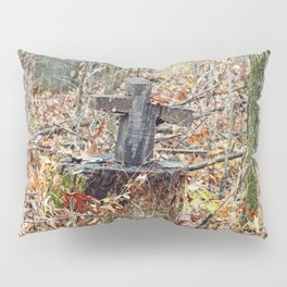 Cross in the Woods Pillow Sham