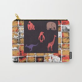 Animals at The Zoo Carry-All Pouch