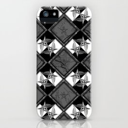 Unicursal Penta Pattern iPhone Case