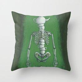 Pot Head Throw Pillow