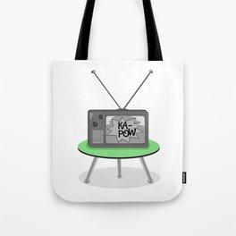 Kapow TV Tote Bag
