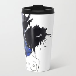 Mind Blown Blue Travel Mug