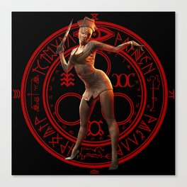 Silent hill-save game Canvas Print