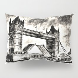 Tower Bridge and the Waverley Art Pillow Sham