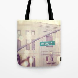 Rodeo Drive  Tote Bag