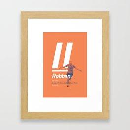 Robben Netherlands 11 Framed Art Print