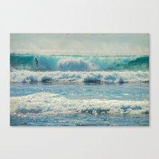 SURF-ACING Canvas Print
