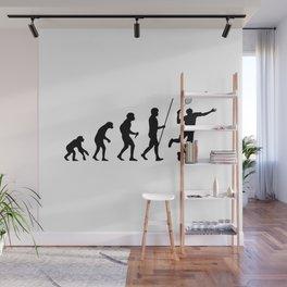 Badminton Evolution Wall Mural