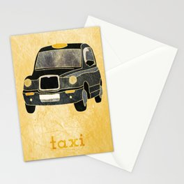 Taxi please Stationery Cards