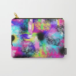 Neon Chaos Carry-All Pouch