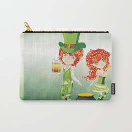 Leprechaun Boy and Girl Carry-All Pouch