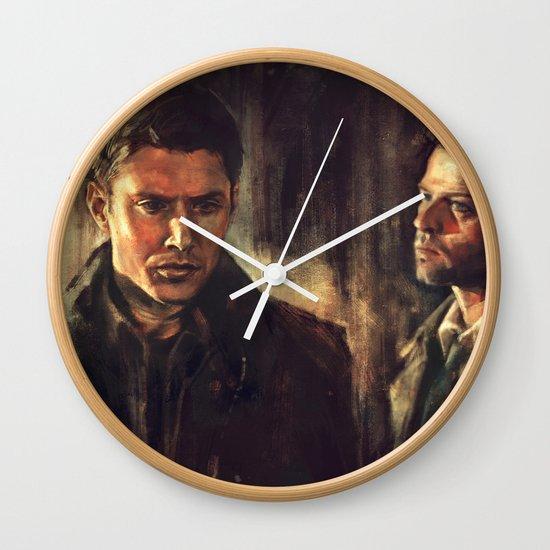 I Walk Beside You Wall Clock