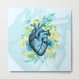 Rest Your Heart Here, Dear Metal Print