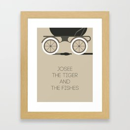 Josee, The Tiger And The Fish Framed Art Print