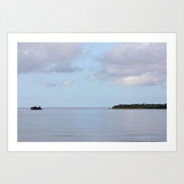 Treasure Island Photo Art Print
