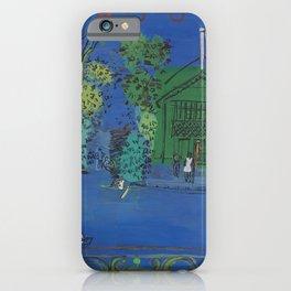 Raoul Dufy Nogent sur Marne iPhone Case